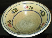 North Carolina Pottery Bowl - 1988 Dover Pottery