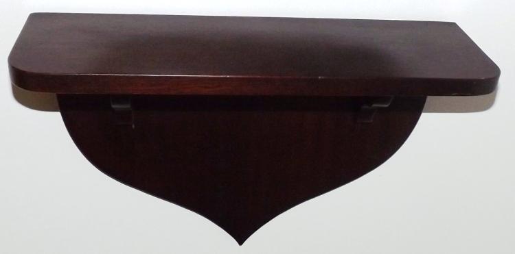 Mahogany Hanging Shelf