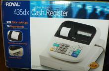 Royal 435dx Electronic Cash Register - NIB