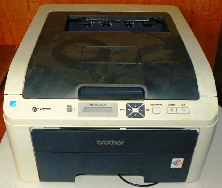 brother hl 3040cn color laser printer. Black Bedroom Furniture Sets. Home Design Ideas