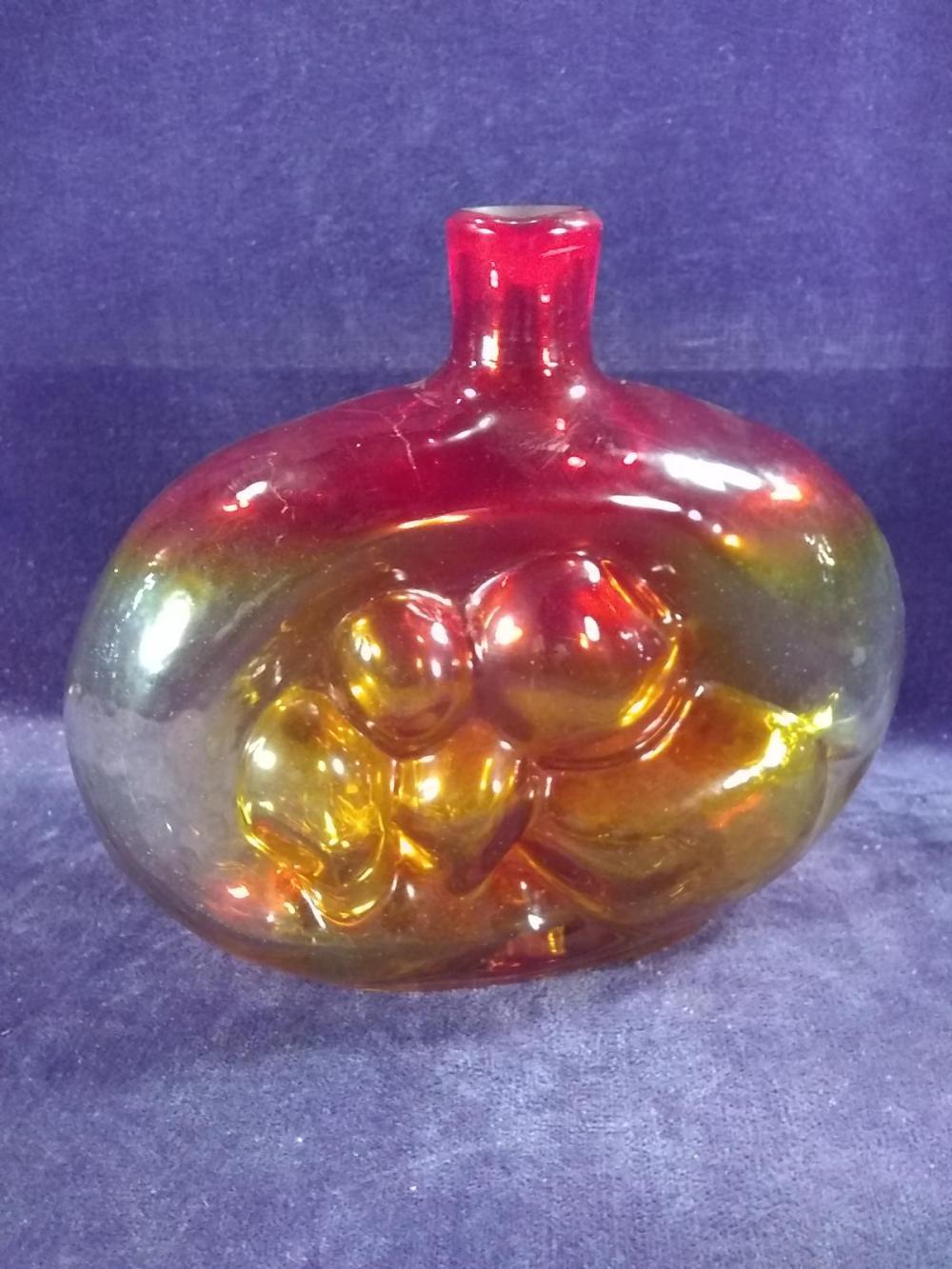 Vintage Hand blown Blinko Vase