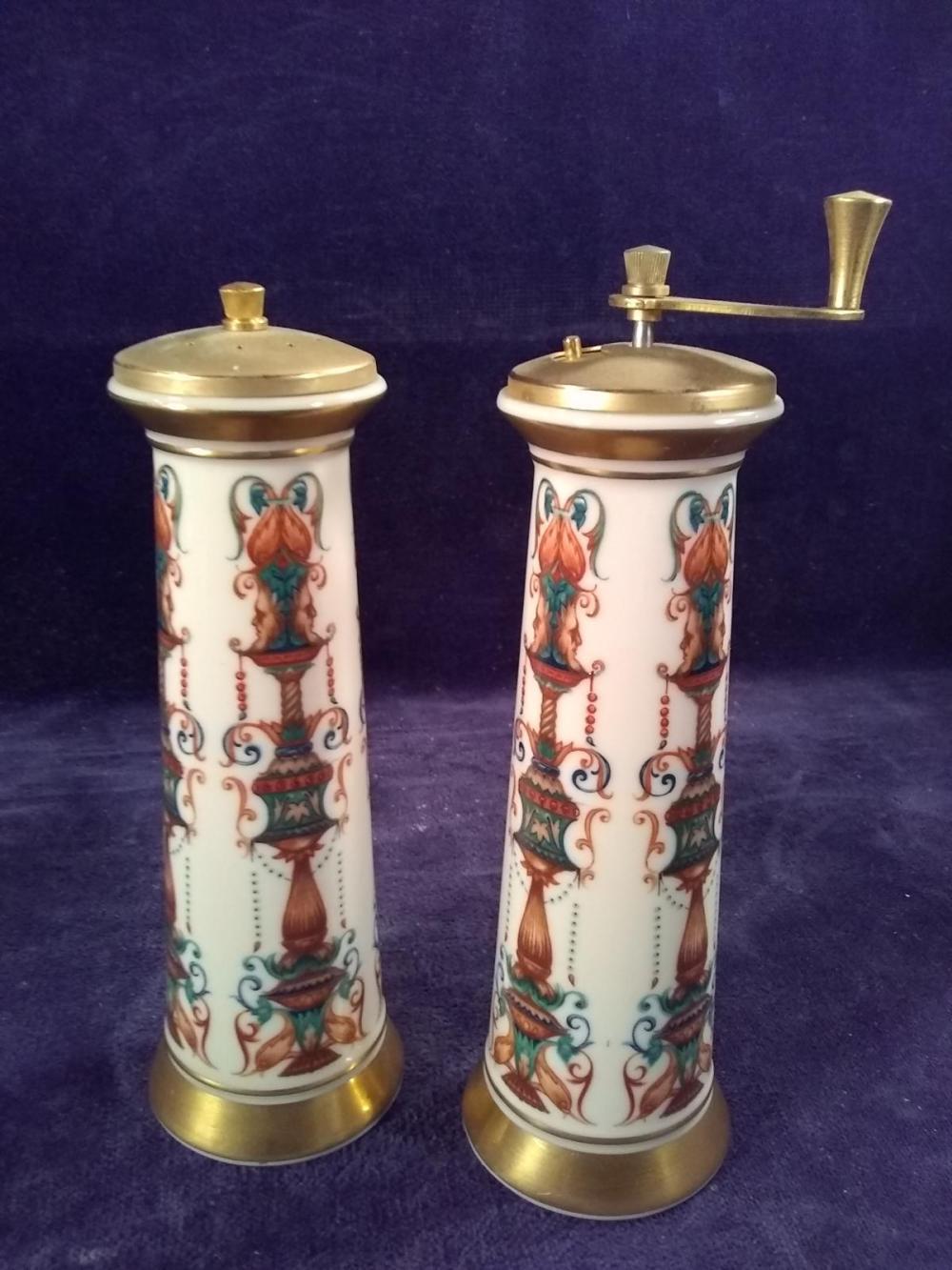 Lennox Porcelain Salt and Pepper Grinder