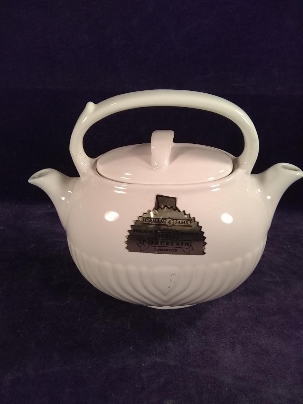 Hall Porcelain Adjusto Teapot