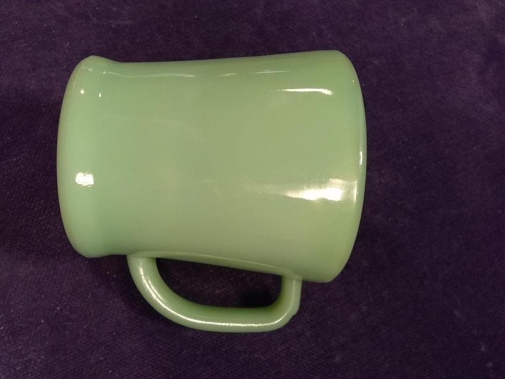 Antique Fireking Jadite Mug