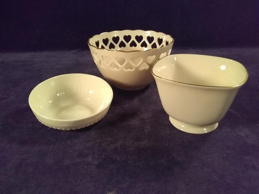 Collection 3 Lennox Bowls