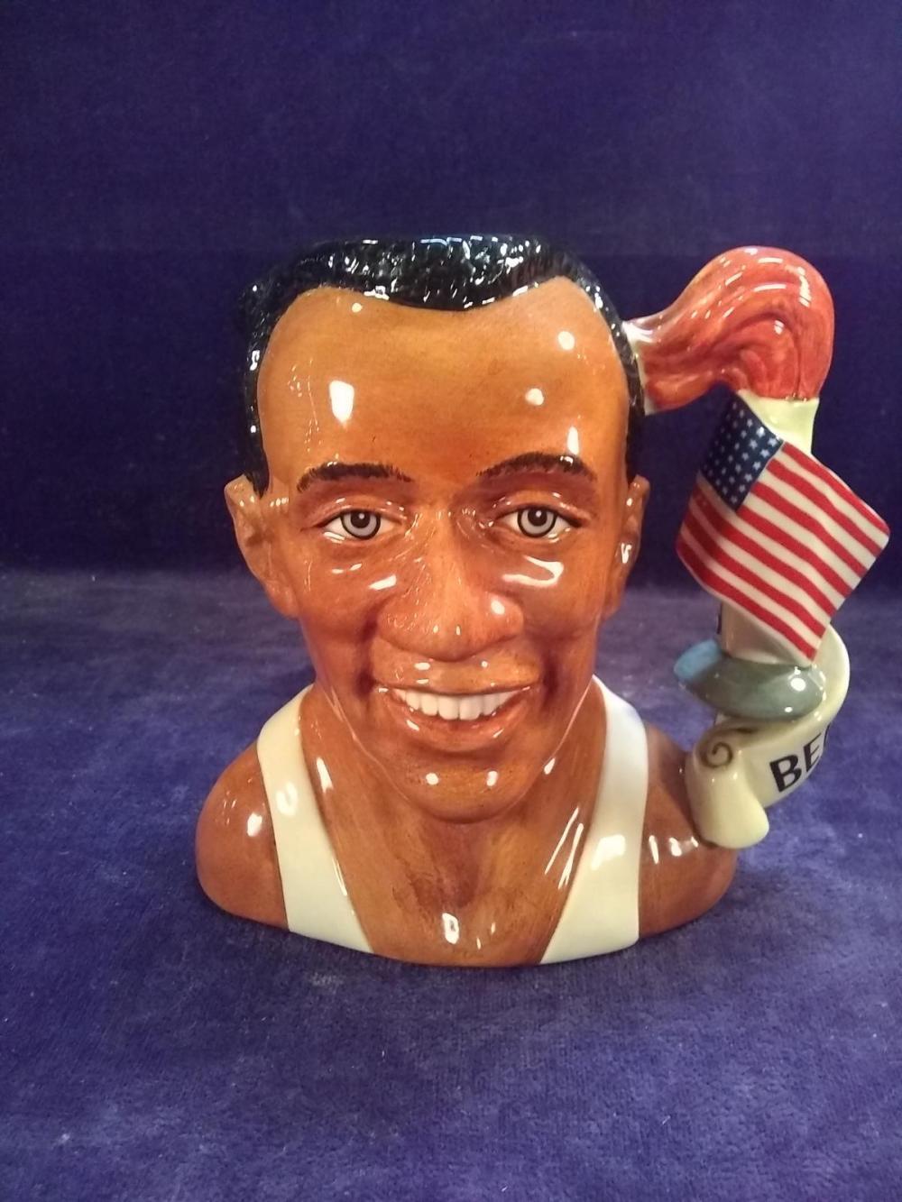 Royal Doulton Mug -1996 Jesse Owens