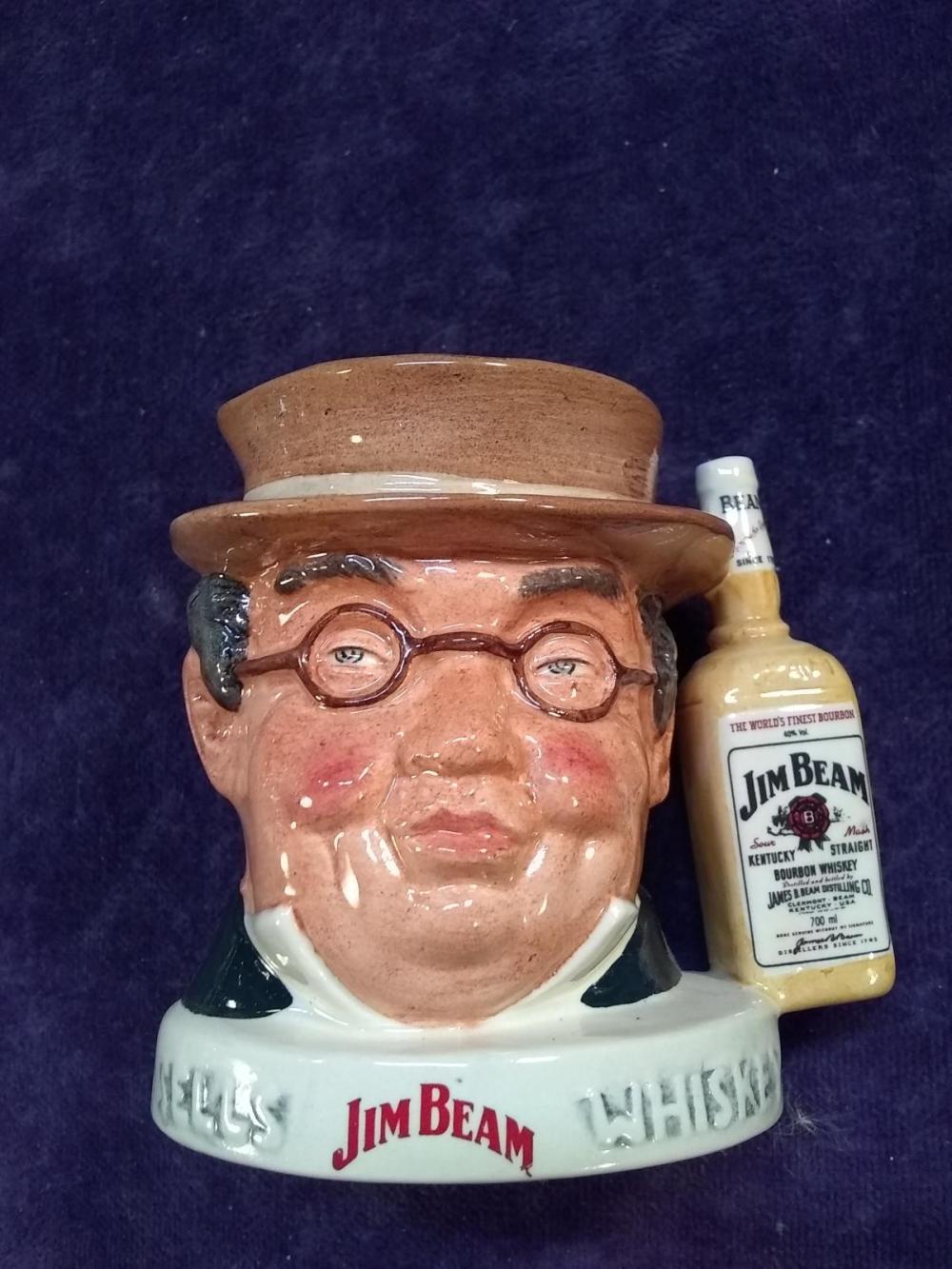 Royal Doulton Mug -Jim Beam Pick Kwik Derby