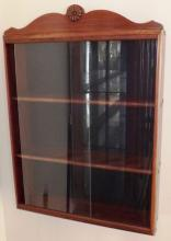 Great American Women Doll Display Case w/ Sliding Glass Doors