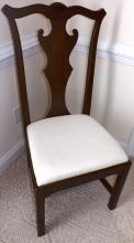 Mahogany Chippendale Side Chair - Lexington Furniture