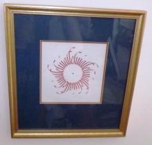 Framed Silk Screen - Michael Podesta