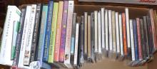 Box Lot - Assorted Music CD's, DVD's