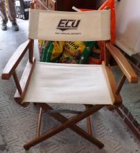 Box Lot -ECU Canvas Director's Chair