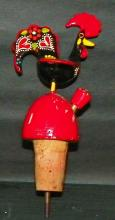 Mexican Rooster Wine Stopper