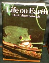 Book - Life on Earth - David Attenborough - 1979