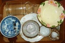 Box Lot - Various Glassware, China, Etc.