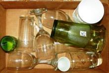 Box Lot - Various Glassware