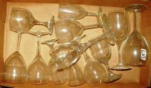 Box Lot - Various Stem Glassware