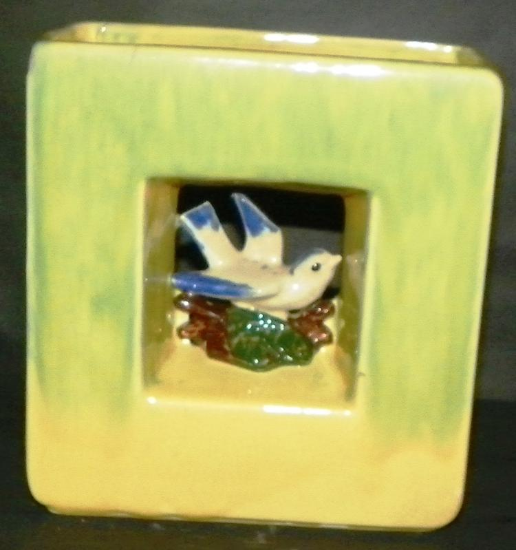 McCoy Square Bird Planter