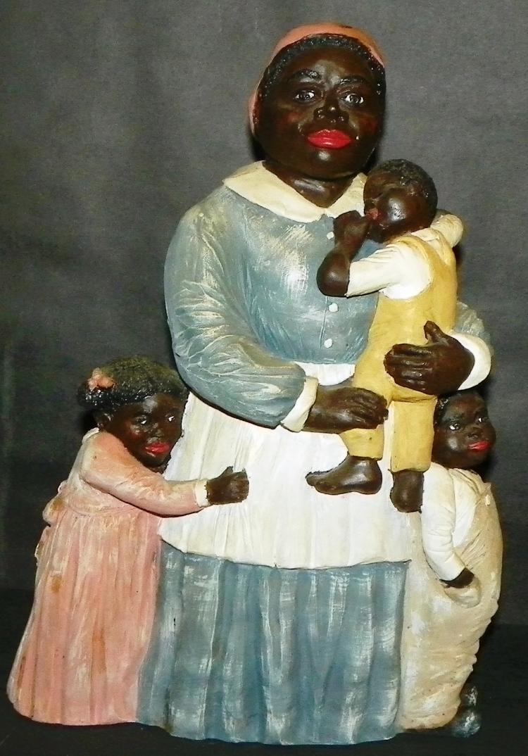 Black Americana Mammy w/ Children