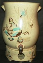 Art Pottery Water Pot w/ stand