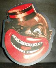 Black Americana Coon -  Chicken Inn Menu
