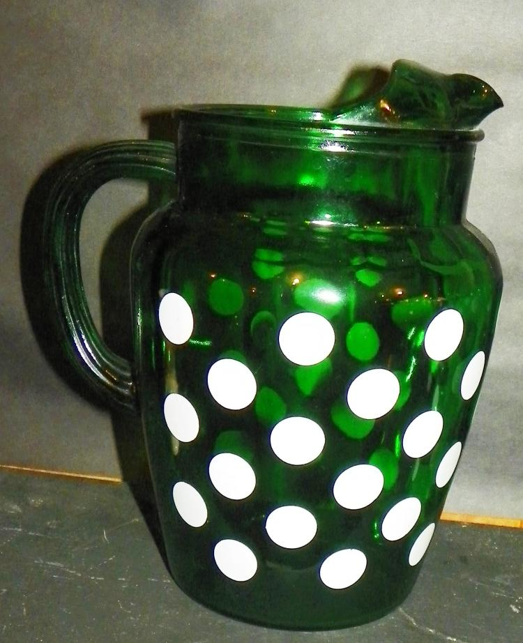 Green Dot Pitcher