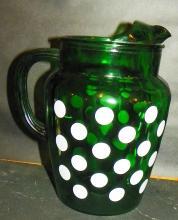 Green Dot Pitcher