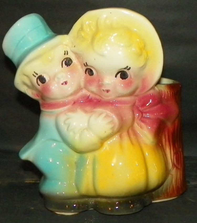 Novelty Boy & Girl Planter