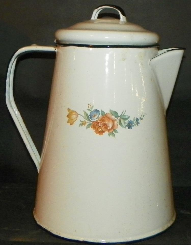 Enameled Tea Kettle