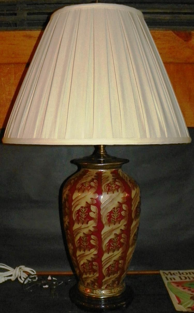 Contemporary Decorator Lamp