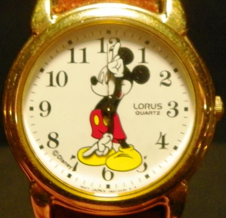 Lorus Mickey Mouse Wrist Watch