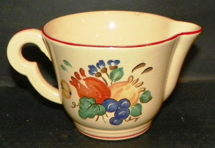 Ewin Knowles Pottery Creamer