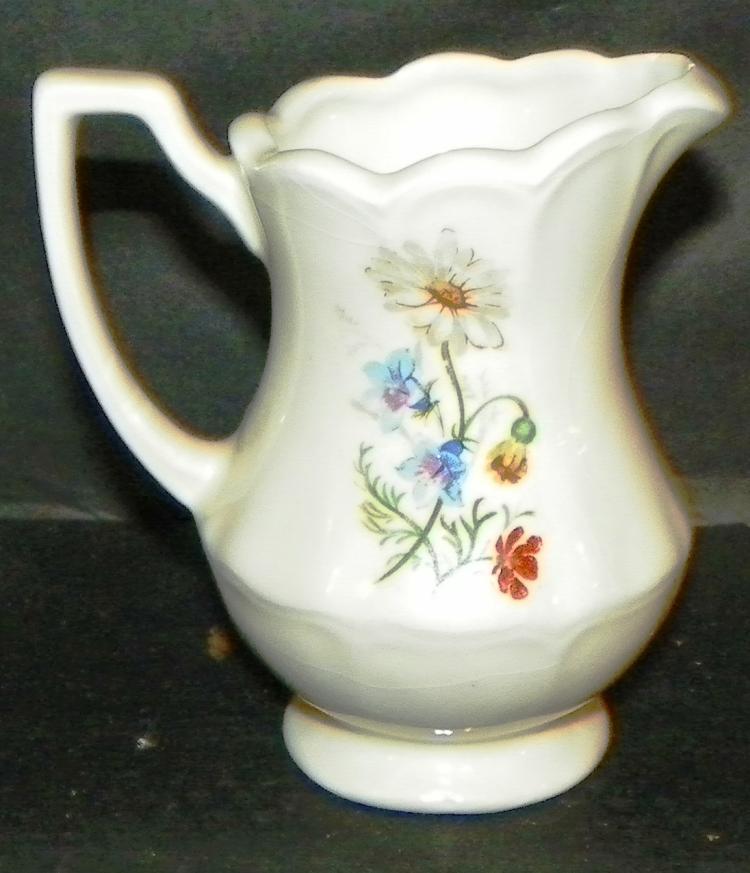 Hand painted Germanic Creamer