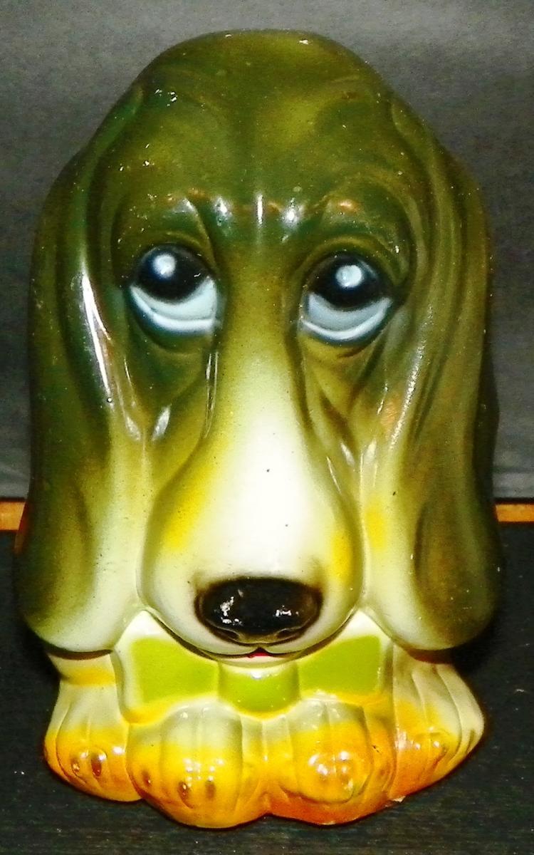 Plastic Dog Bank