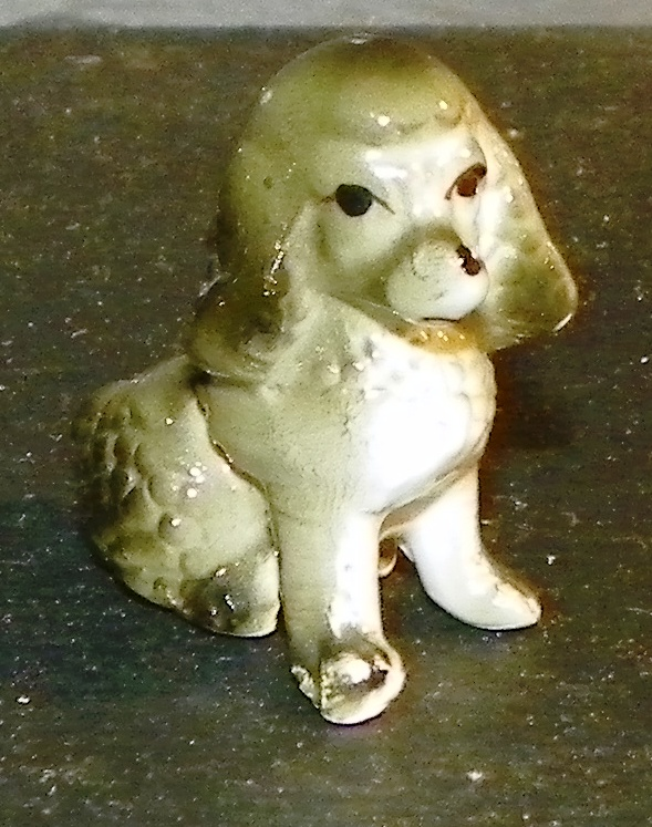 Miniature Poodle Dog Figure