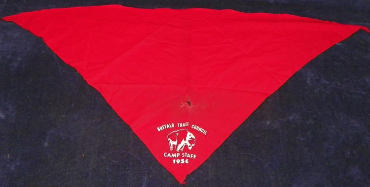 1956 Buffalo Trace Council Camp Staff Scarf