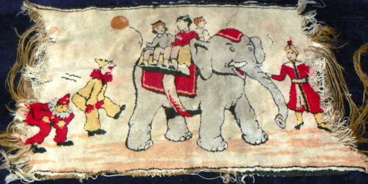 Vintage Circus Tapestry
