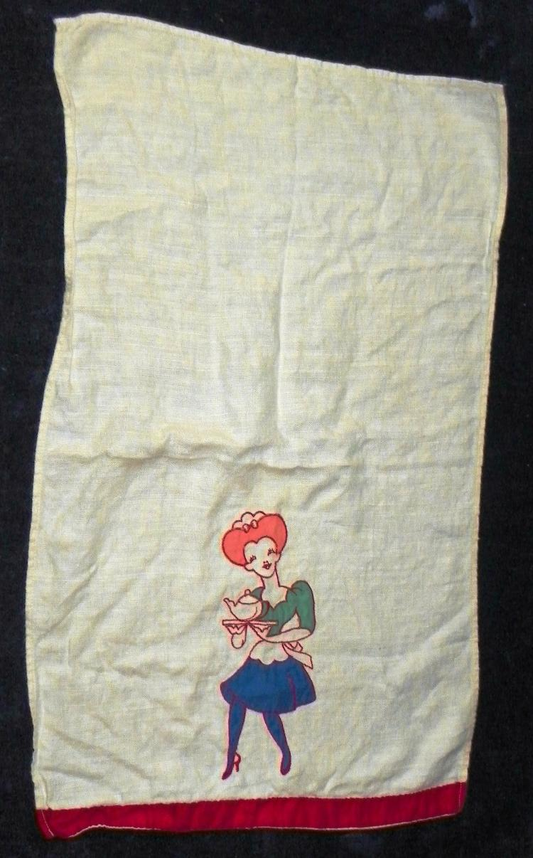 Appliquéd Kitchen Towel
