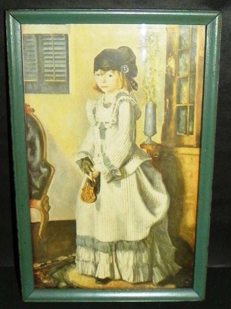 Framed Print - Lady w/ pocketbook