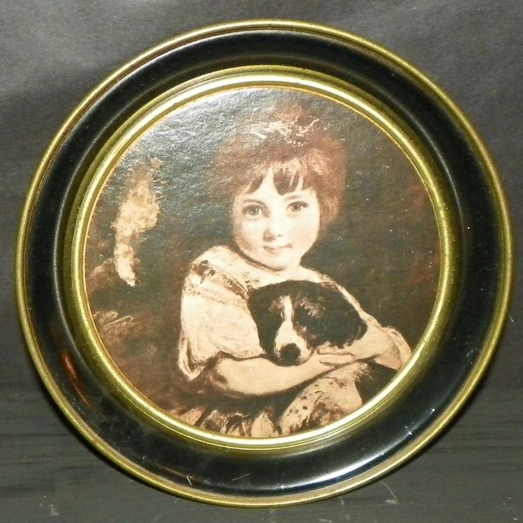 Metal Portrait Plaque