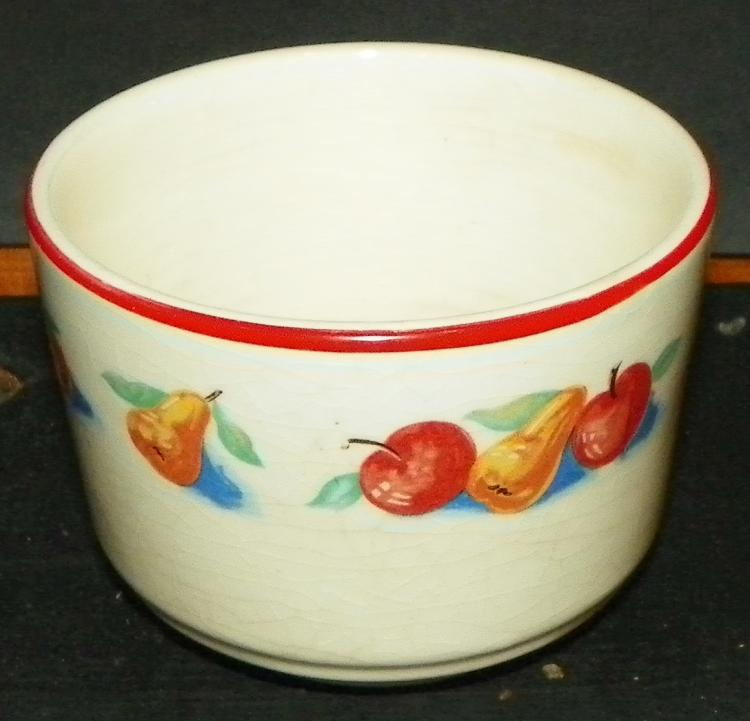 Harker Art Pottery Custard