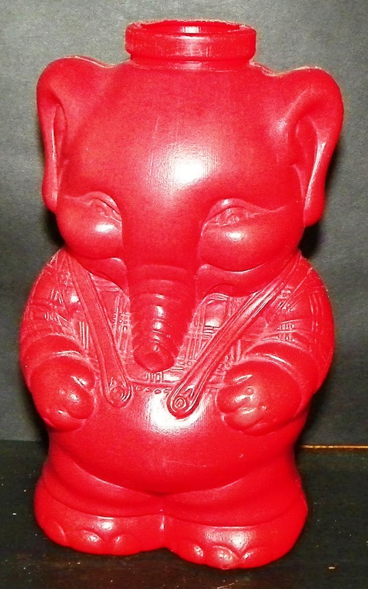 Plastic Novelty Elephant Bottle