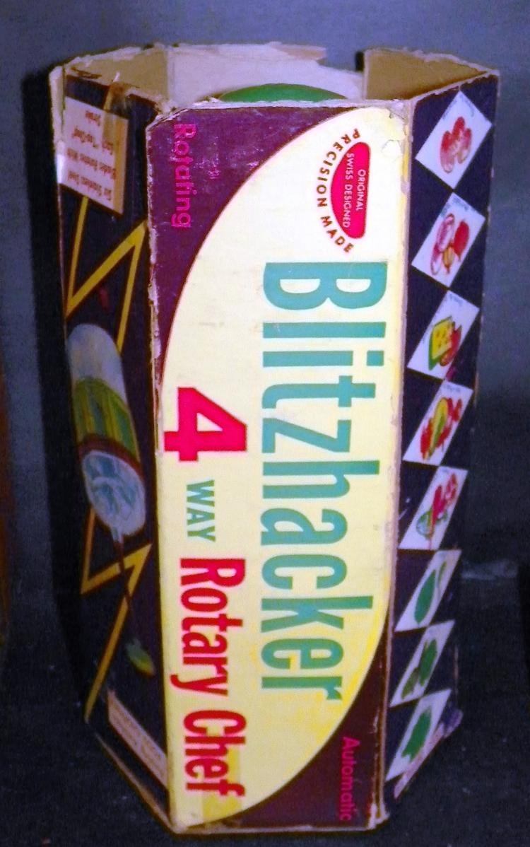 Blitzhacker Food Chopper in Original Box