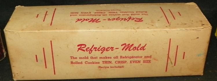 Refriger Mold Cookie No.19 Cookie Mold in Original Box