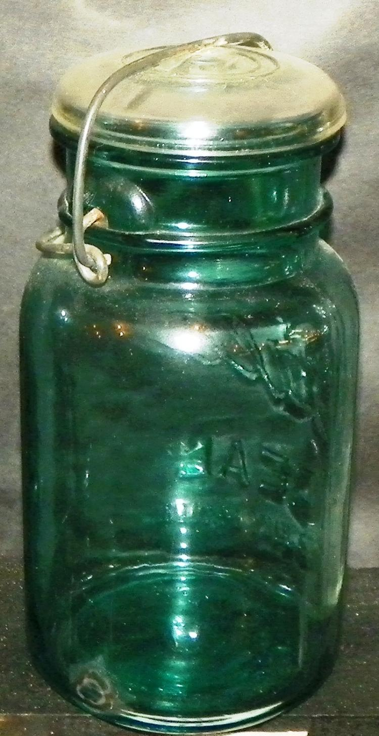 Ball Mason Canning Jar with Glass Lid