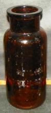 Amber Milks Emulsion Bottle