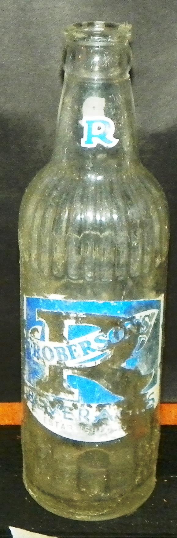 Robersons Soda Bottle