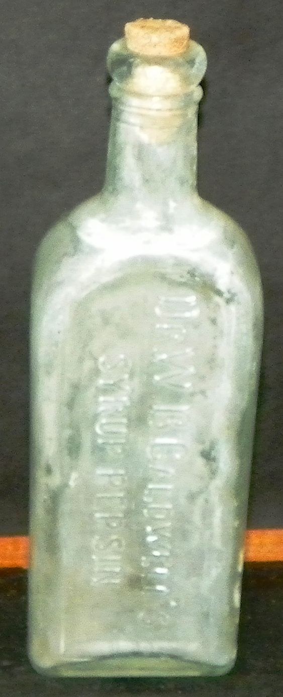 Dr. W.B Caldwell's Syrup Pepsin Bottle
