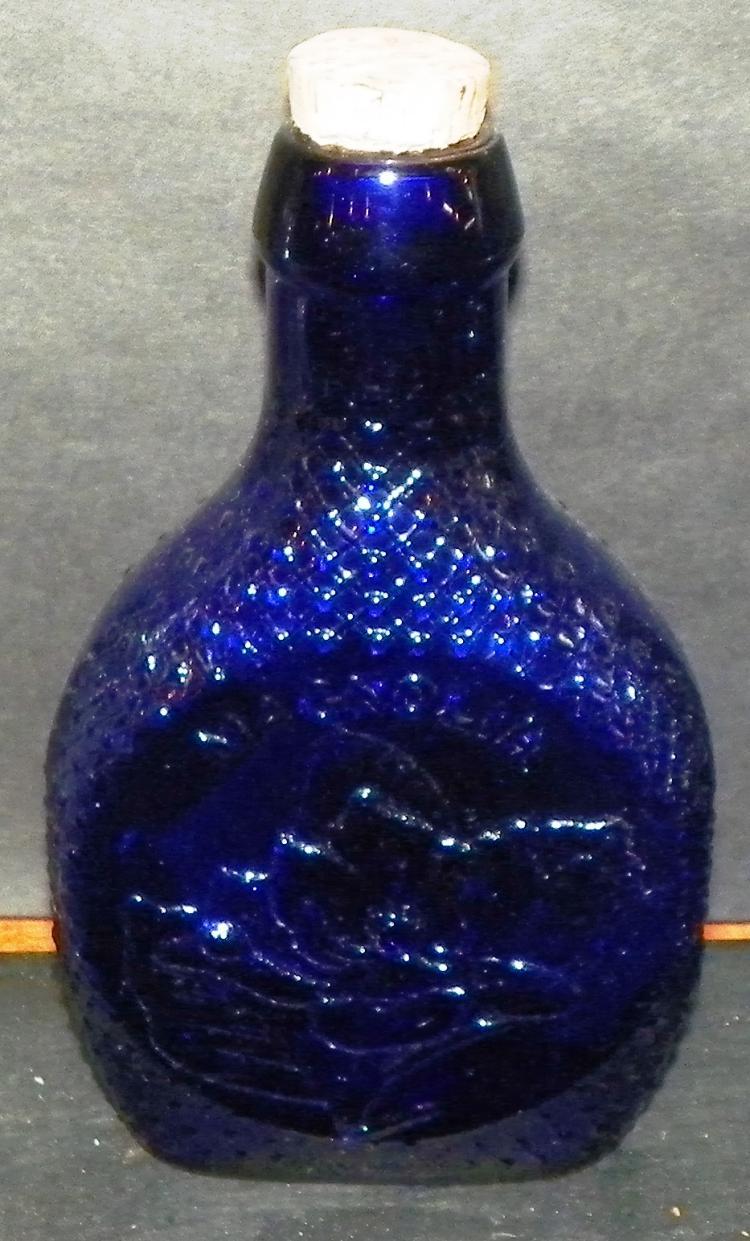 Wheaton Cobalt Magnolia Museum Ed. Bottle