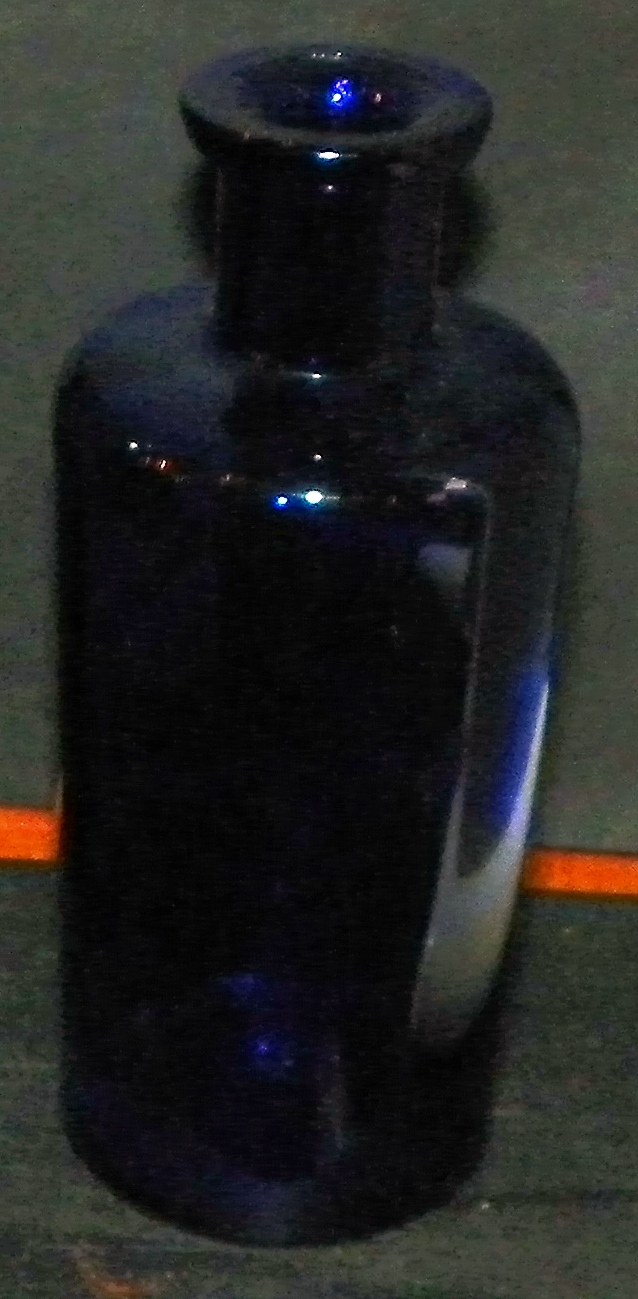Cobalt Blue Bottle
